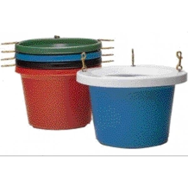 Round Livestock Feeder Tub - 30 Qt. / Color (Black) Best Price