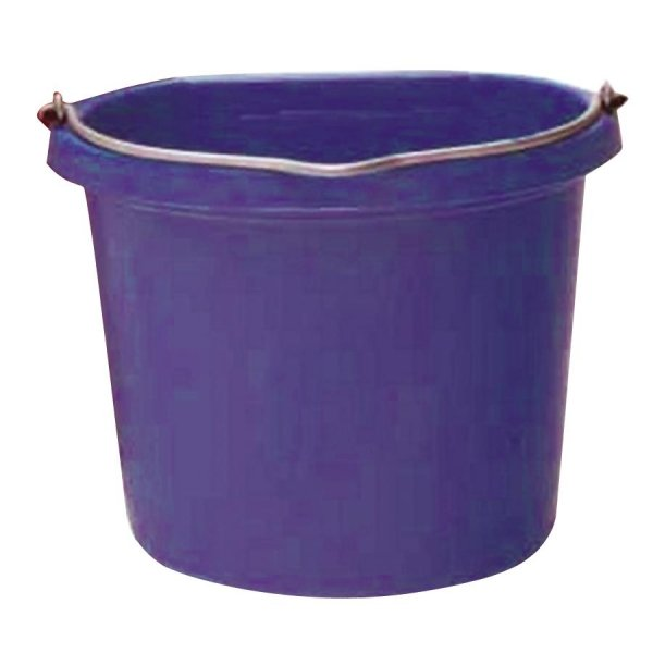 Flat Back 20 quart Bucket / Color (Purple) Best Price