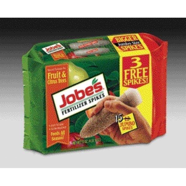 Jobes Tree Fertilizer Spikes  / Type (Fruit  Citrus and Nut (9-12-12)) Best Price