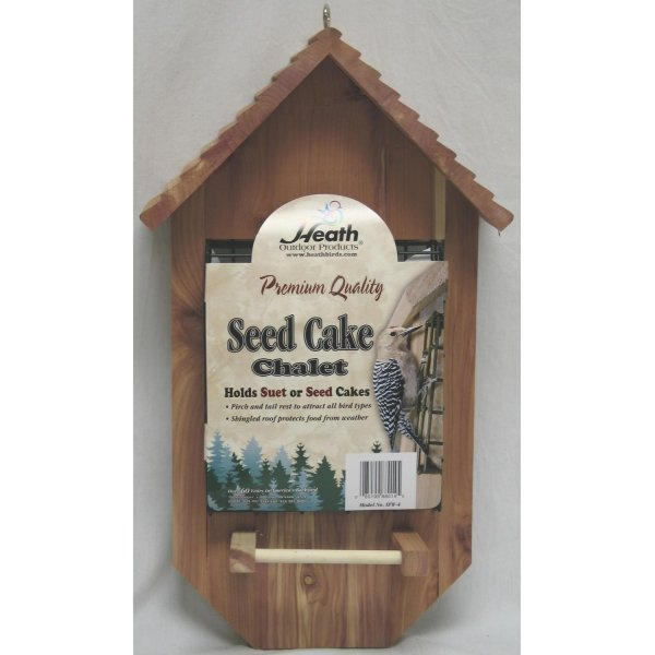 Chalet Seed Cake Bird Feeder / Size (Large) Best Price