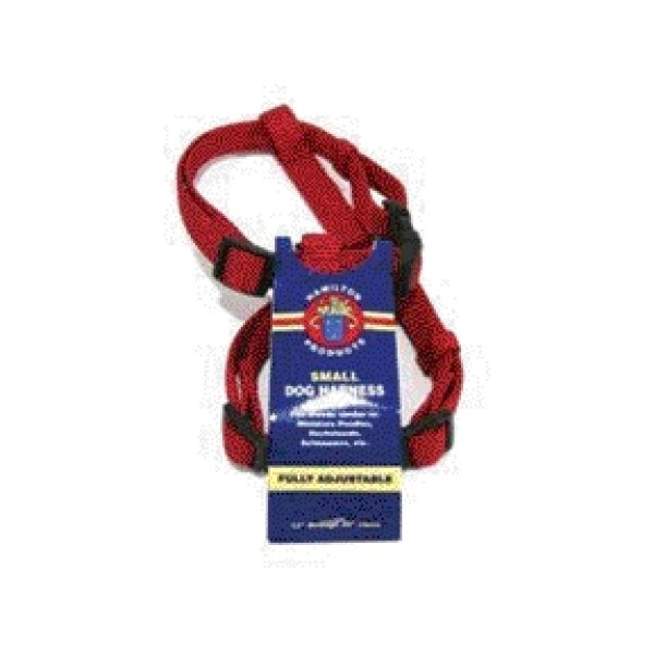 Adjustable Small Comfort Dog Harness  / Color (Red) Best Price