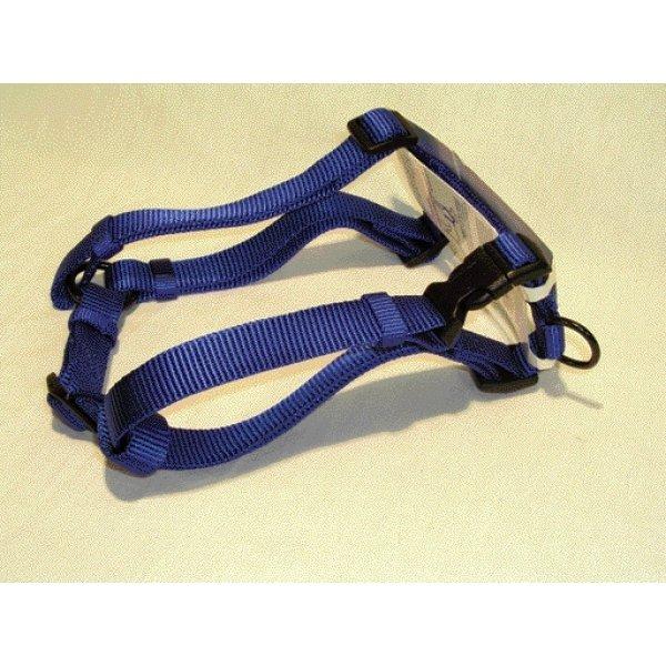 Adjustable Large Comfort Dog Harness / Color Blue