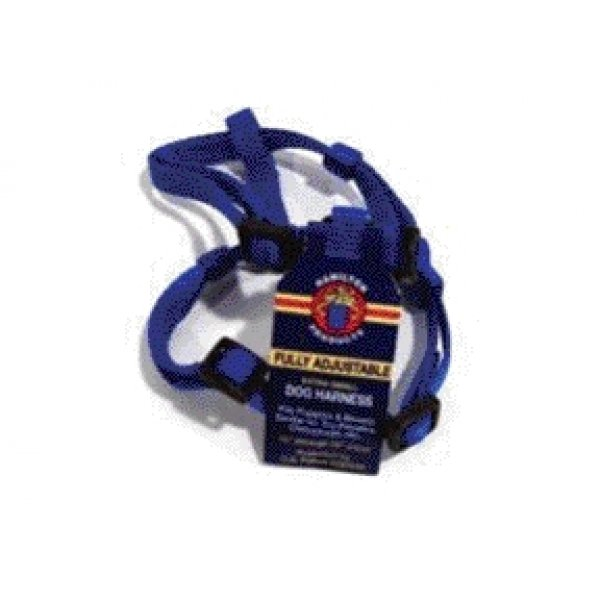 Adjustable Xsmall Comfort Dog Harness / Color Blue