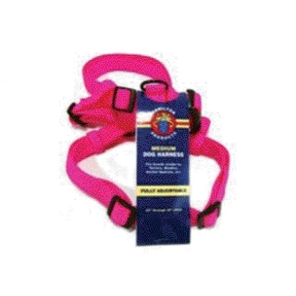 Adjustable Medium Comfort Dog Harness / Color Hot Pink