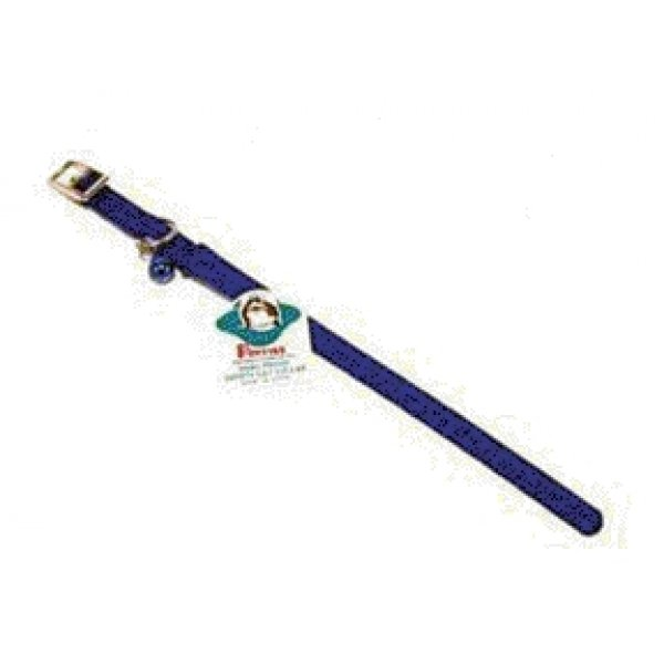 Cat Poppies Snag-proof Collar / Size (Blue  3/8 x 10 in) Best Price