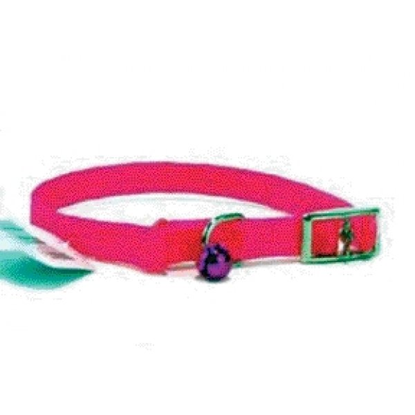 Cat Poppies Snag-proof Collar / Size (Hot Pink  3/8 x 12 in) Best Price