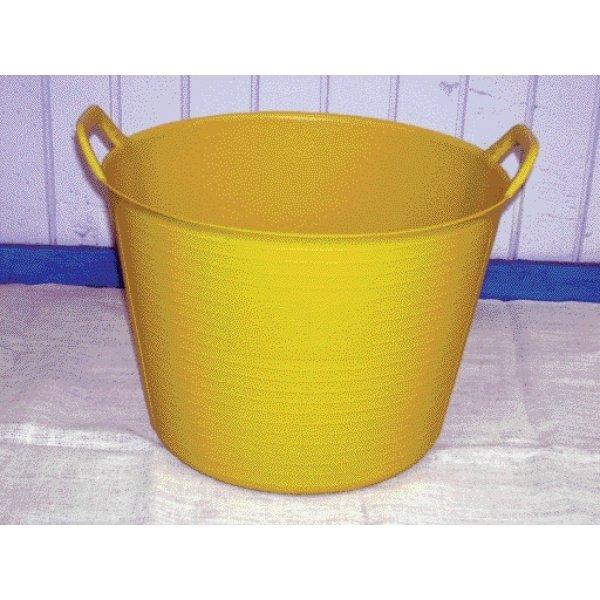 Flexible Chore Basket / Color (Yellow/42 qt.) Best Price