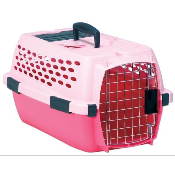 Pink Kennel Cab for Pets / Size (Small) Best Price