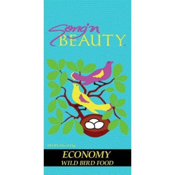 Songn Beauty Economy Wild Bird Food / Size 5 Lb