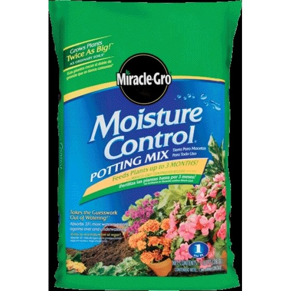 Miracle Gro Moisture Control Potting Mix / Size (1 CF) Best Price