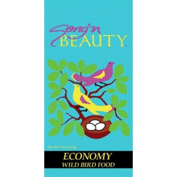 Songn Beauty Economy Wild Bird Food / Size 20 Lb