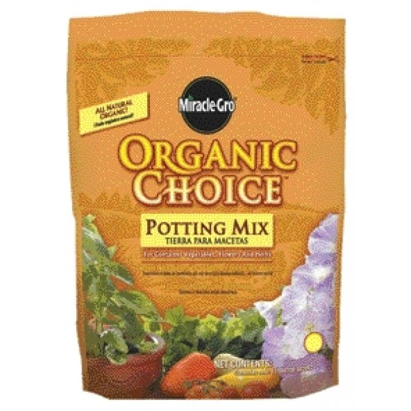 Miracle Gro Organic Choice Potting Mix / Size (16 qt) Best Price