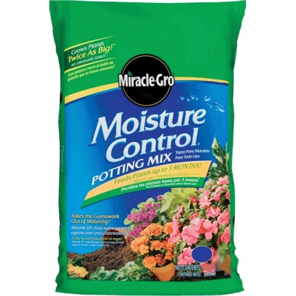 Miracle Gro Moisture Control Potting Mix / Size (2 CF) Best Price