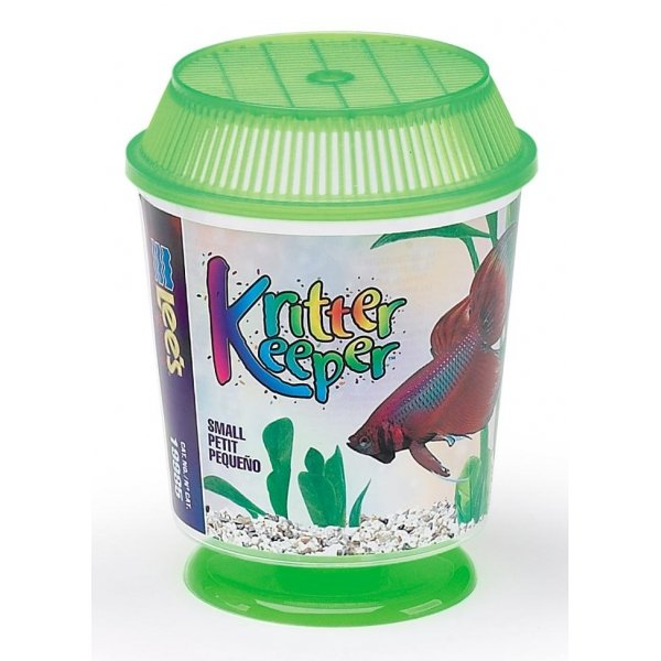 Kritter Keeper Fish And Reptile Homes / Size Small Round