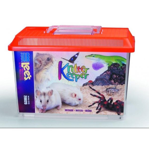 Kritter Keeper Fish And Reptile Homes / Size Med. Rectangle