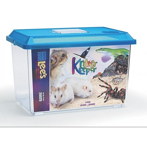 Kritter Keeper Fish And Reptile Homes / Size Large Rectangle