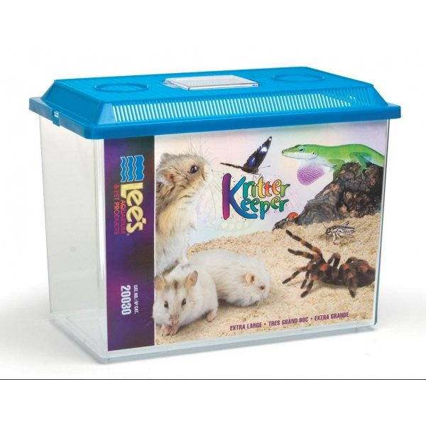 Kritter Keeper Fish And Reptile Homes / Size Xlarge Rectangle