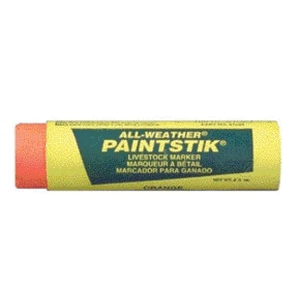 All Weather Livestock PaintStik  / Color (Orange) Best Price