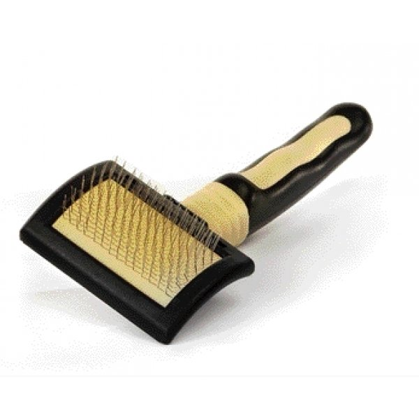 Four Paws Ultimate Touch Slicker Wire Brush / Size Mini