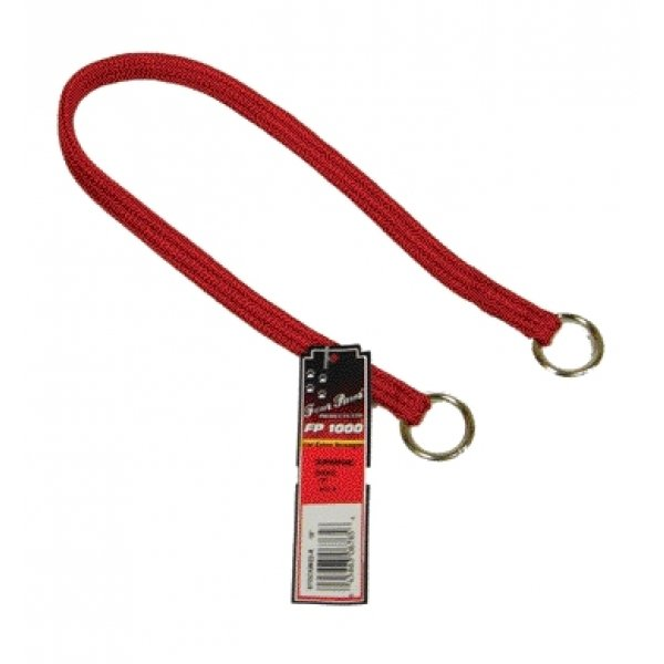 Nylon Dog Choke Training Collar / Size (24 in. Red) Best Price