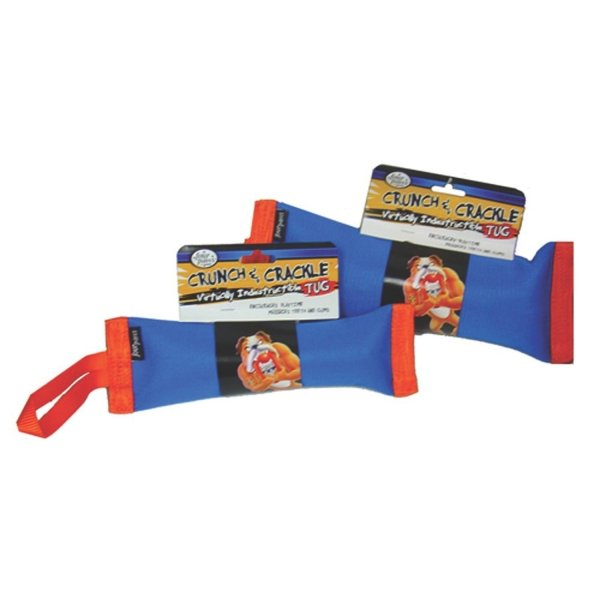 Crunch and Crackle Dog Tug / Size (Large)