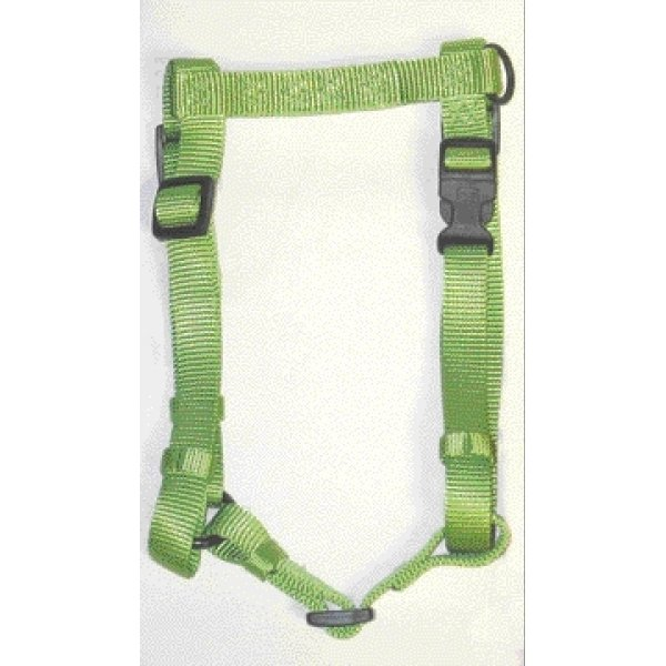 Adj. Comfort Dog Harness / Size (Medium / Lime)