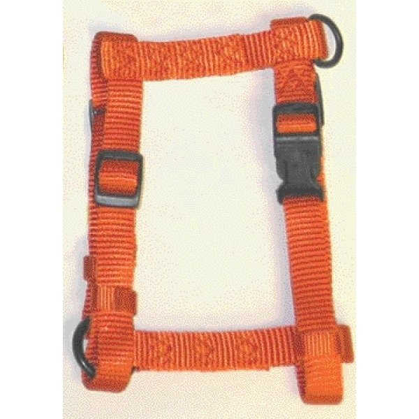 Adj. Comfort Dog Harness / Size Medium / Mango