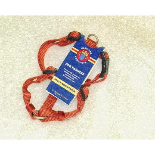 Adjustable Small Comfort Dog Harness  / Color (Brick) Best Price
