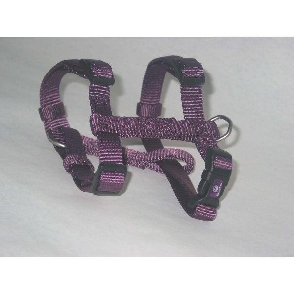 Adjustable Small Comfort Dog Harness  / Color (Plum) Best Price