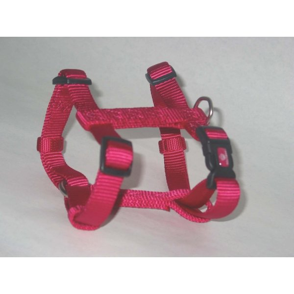Adjustable Small Comfort Dog Harness  / Color (Raspberry) Best Price