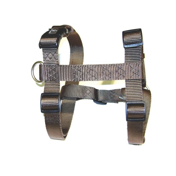 Adjustable Step-In Dog Harness / Size (Brown 30-40 in.) Best Price