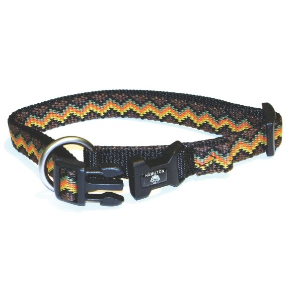 Adj. Weave Style Dog Collar / Size (Earth / 5/8 in) Best Price