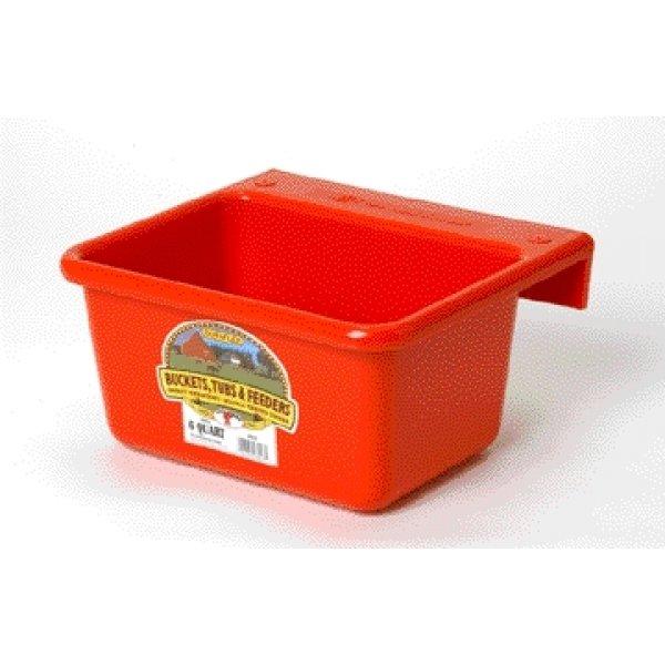 Mini Feeder for Farm Animals - 6 quart / Color (Red) Best Price