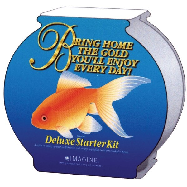 Deluxe Gold Fish Starter Kits / Size (2.5 Gallon) Best Price