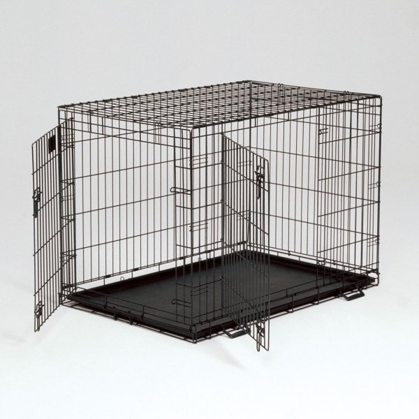 Life Stages Double Door Dog Crate / Size 42l X 28w X 31h