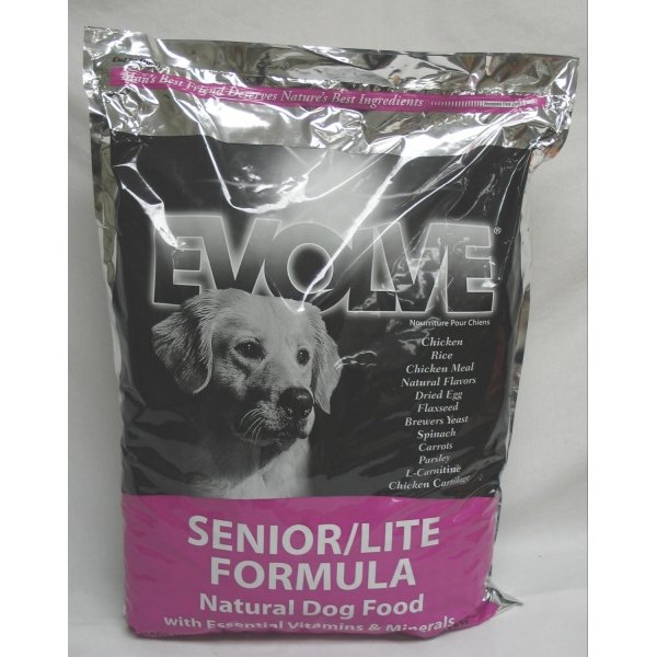 Evolve Senior Lite Dog Food / Size (30 lbs.) Best Price