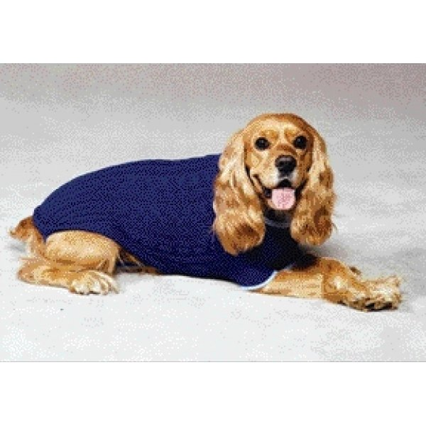 Classic Cable Dog Sweater / Size (Cobalt Blue  X-Small) Best Price