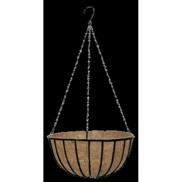 Gardman Black Traditional Hanging Basket / Size (16 in.) Best Price