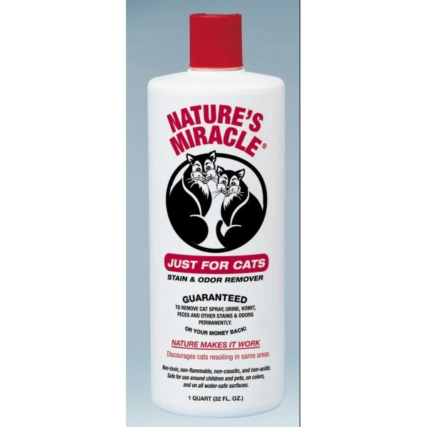 Natures Miracle Just For Cats Stain Odor / Size 32 Oz.