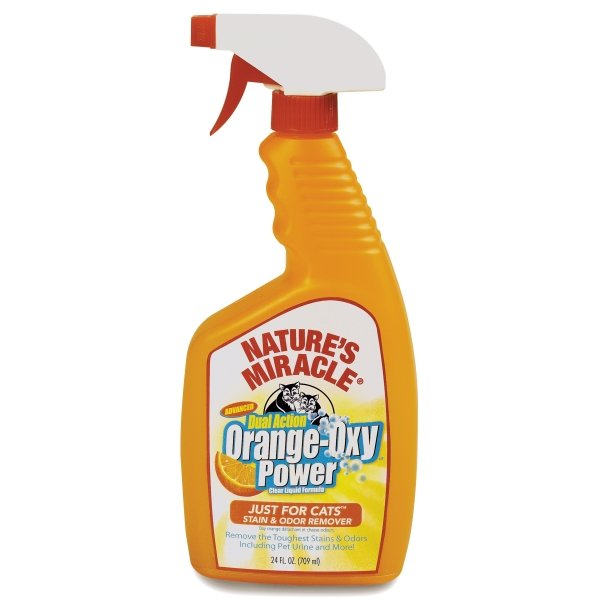 Natures Miracle Orange Oxy Just For Cats / Size 24 Oz. Spray