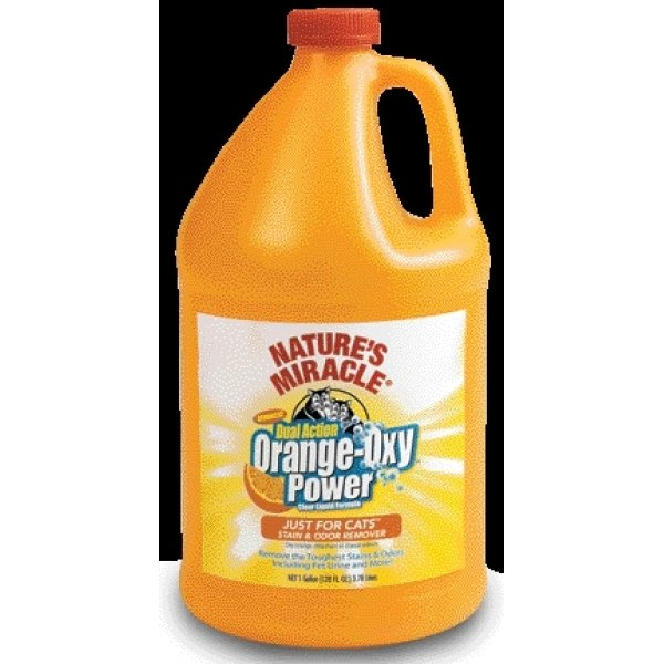 Natures Miracle Orange Oxy Just for Cats / Size (1 Gallon) Best Price