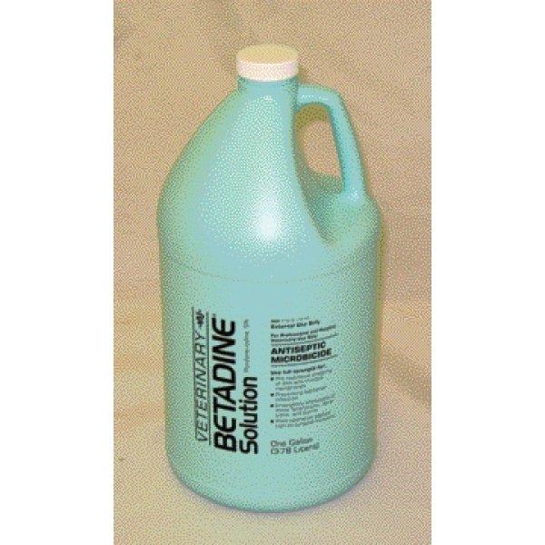 Veterinary Betadine Solution / Size (Gallon) Best Price