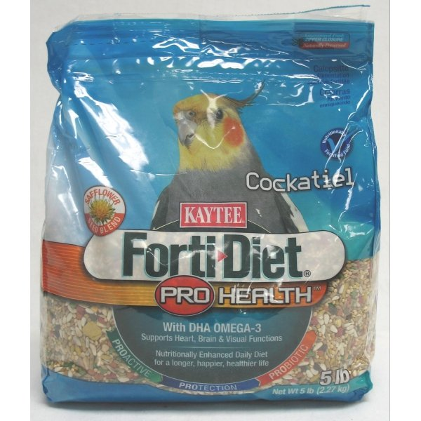 Forti Diet Prohealth Cockatiel / Size 5 Lb With Safflower
