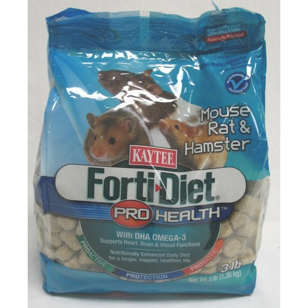 Forti Diet Prohealth Mouse / Rat / Size 3 Lb