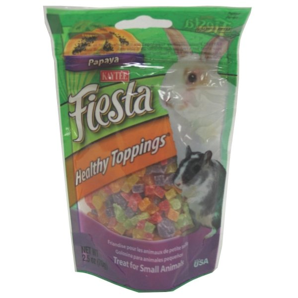 Fiesta Healthy Toppings Small Pet / Flavor (Papaya 2.5 oz.) Best Price