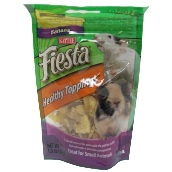Fiesta Healthy Toppings Small Pet / Flavor (Banana 1.5 oz.) Best Price