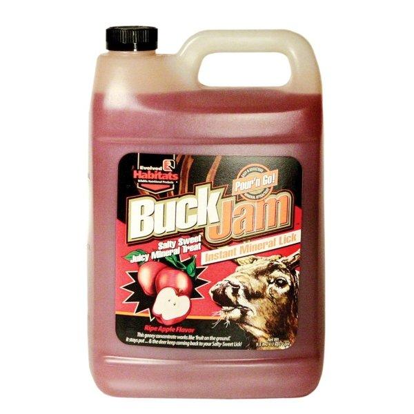 Buck Jam Instant Mineral Lick - Gallon / Flavor (Ripe Apple) Best Price