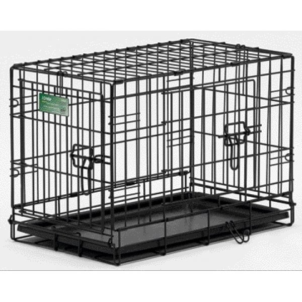 Icrate Double Door Dog Crate / Size 22 In.