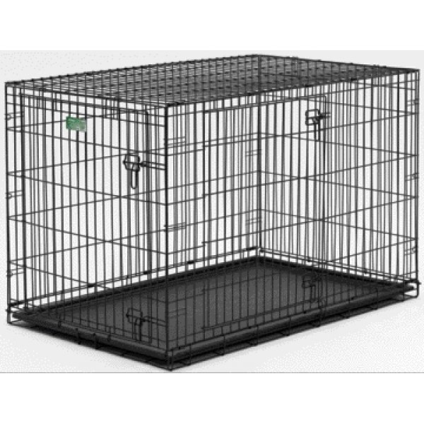 Icrate Double Door Dog Crate / Size 42 In.