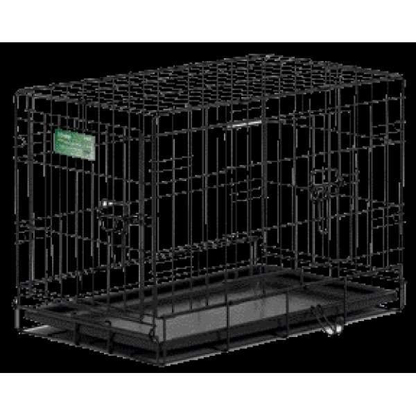 Icrate Double Door Dog Crate / Size 18 In.